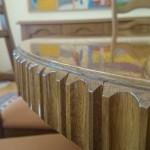 stol drewniany retro