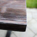 piekny drewniany stol