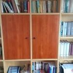 biblioteczka z szafka